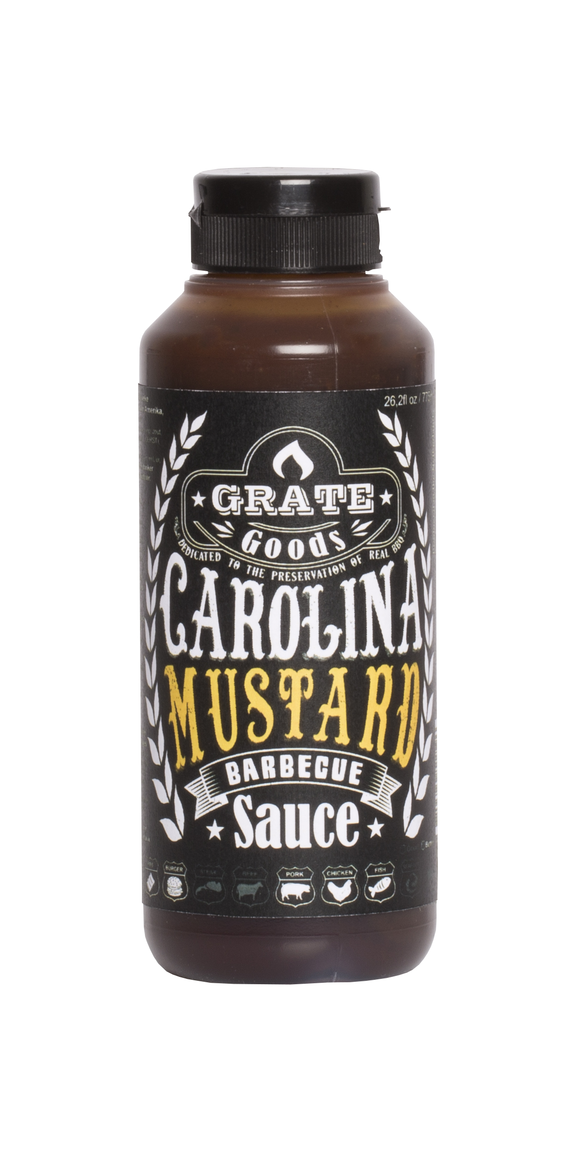 Grate Goods Carolina Mustard BBQ Sauce 265ml