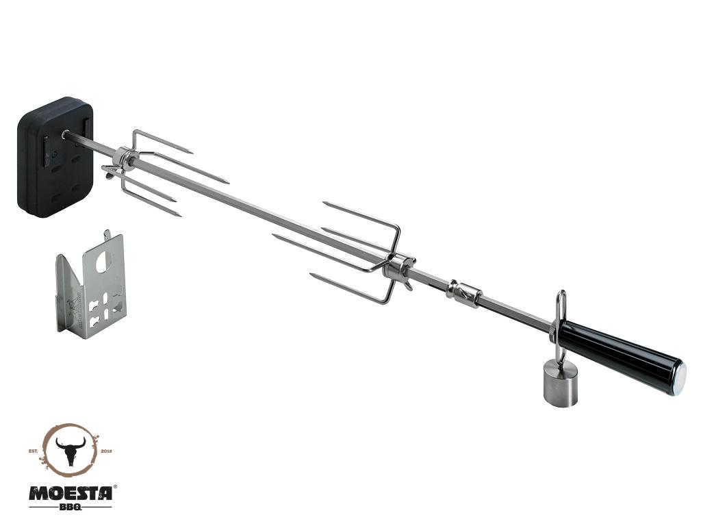Moesta Rotisserie Set mit Batterienmotor für 57 und 60 cm Kugelgrill