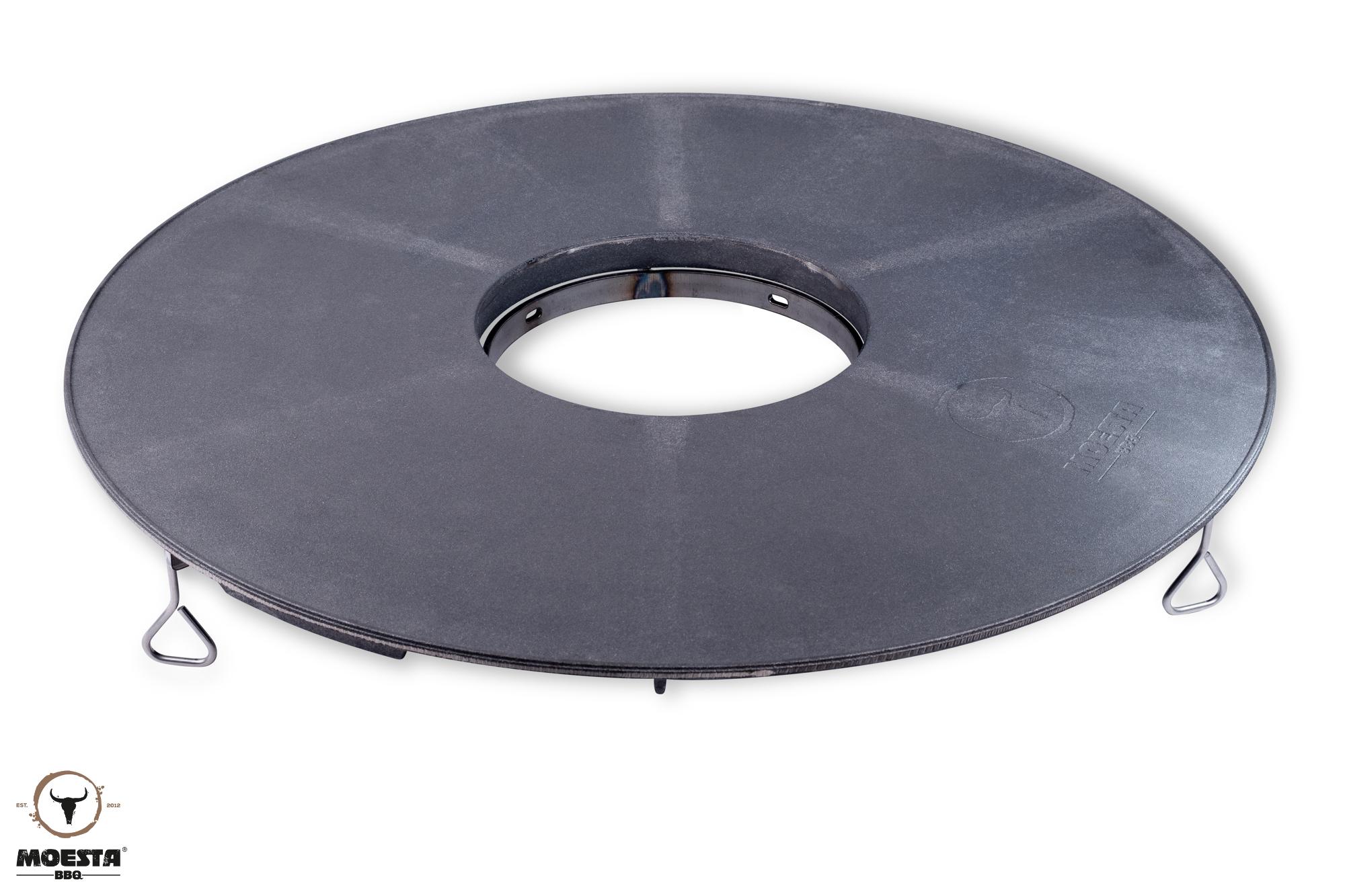BBQ Disk Feuerplatte inkl. Höhenversteller