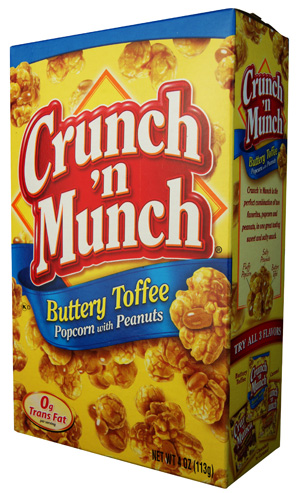 Crunch & Munch Toffee Popcorn (MHD 03.07.2020)