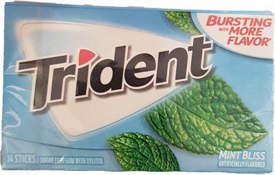 Trident Mint Bliss Kaugummi (MHD 08.05.2021)