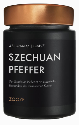 ZOOZE Szechuan Pfeffer 45g Schraubglas