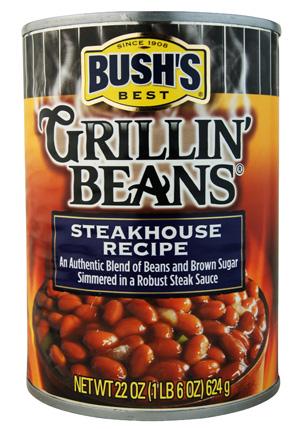 Bush's Best Grillin' Beans Steakhouse Recipe
