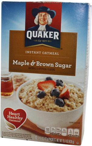 Quaker Instant Oat Maple & Brown Sugar