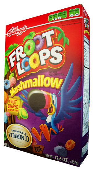 Kelloggs Marshmallow Froot Loops
