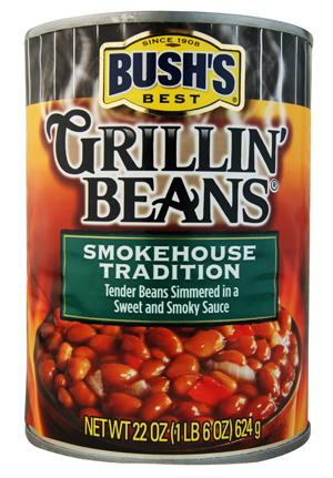 Bush's Best Grillin' Beans Smokehouse Tradition