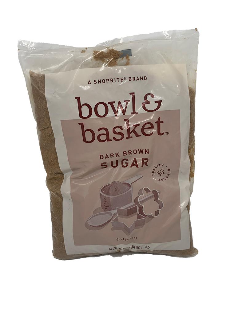 Shoprite bowl & basket dark brown sugar (907g)