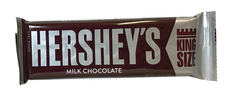 Hershey Milk Chocolate King Size