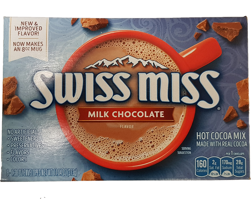 Swiss Miss Milk Chocolate 313g