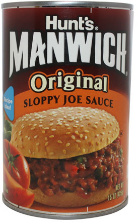Hunt's Manwich Sloppy Joe Hamburger Sauce