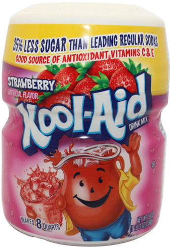 Kool Aid Barrel Strawberry