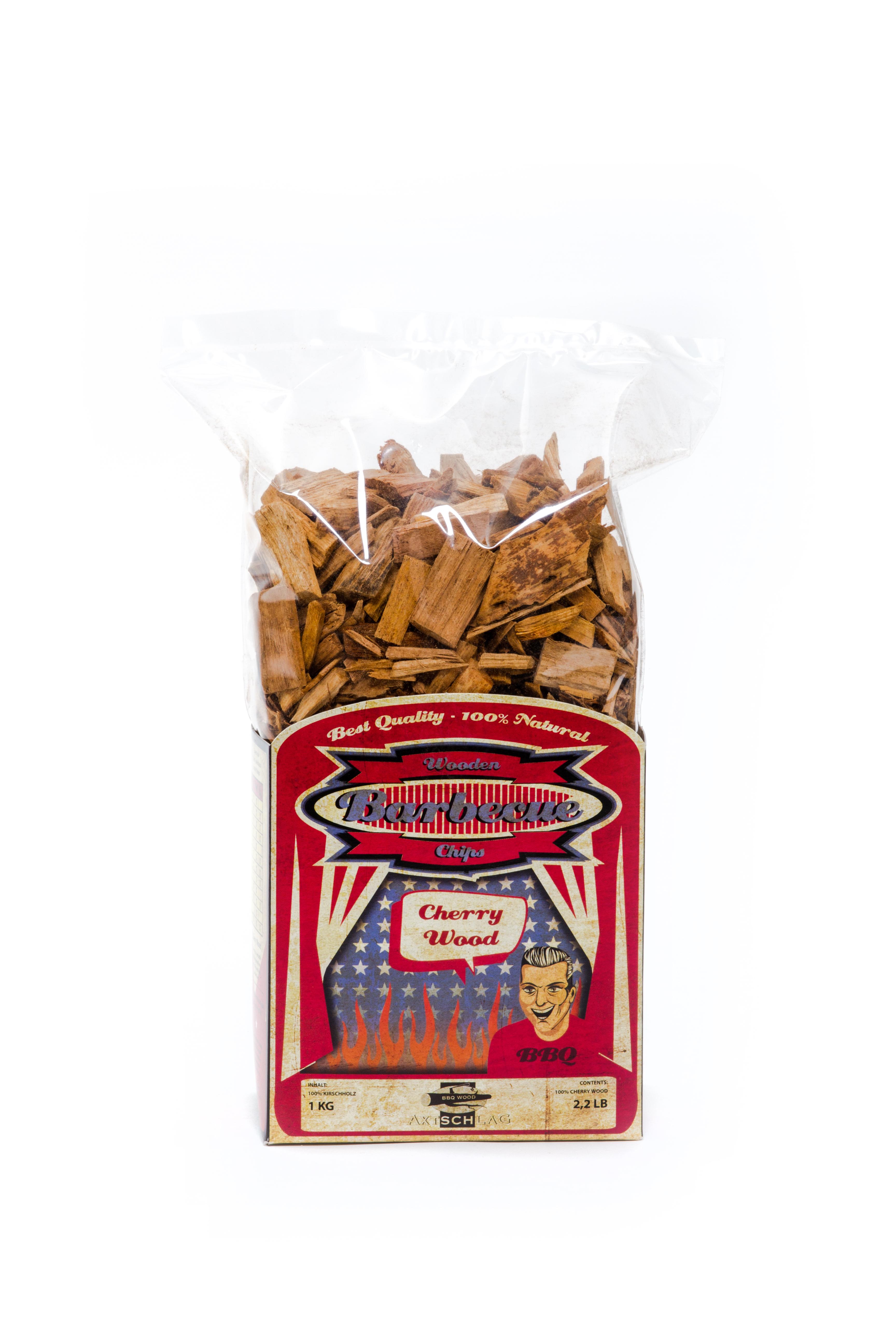Axtschlag Räucherholz - Wood Smoking Chips - Kirsche