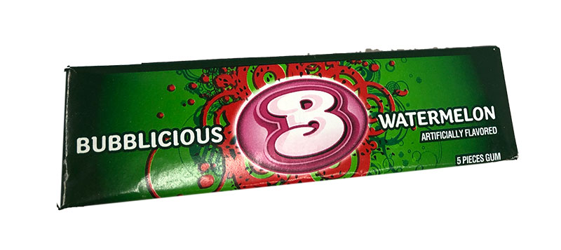 Bubblicious Watermelon, Kaugummi