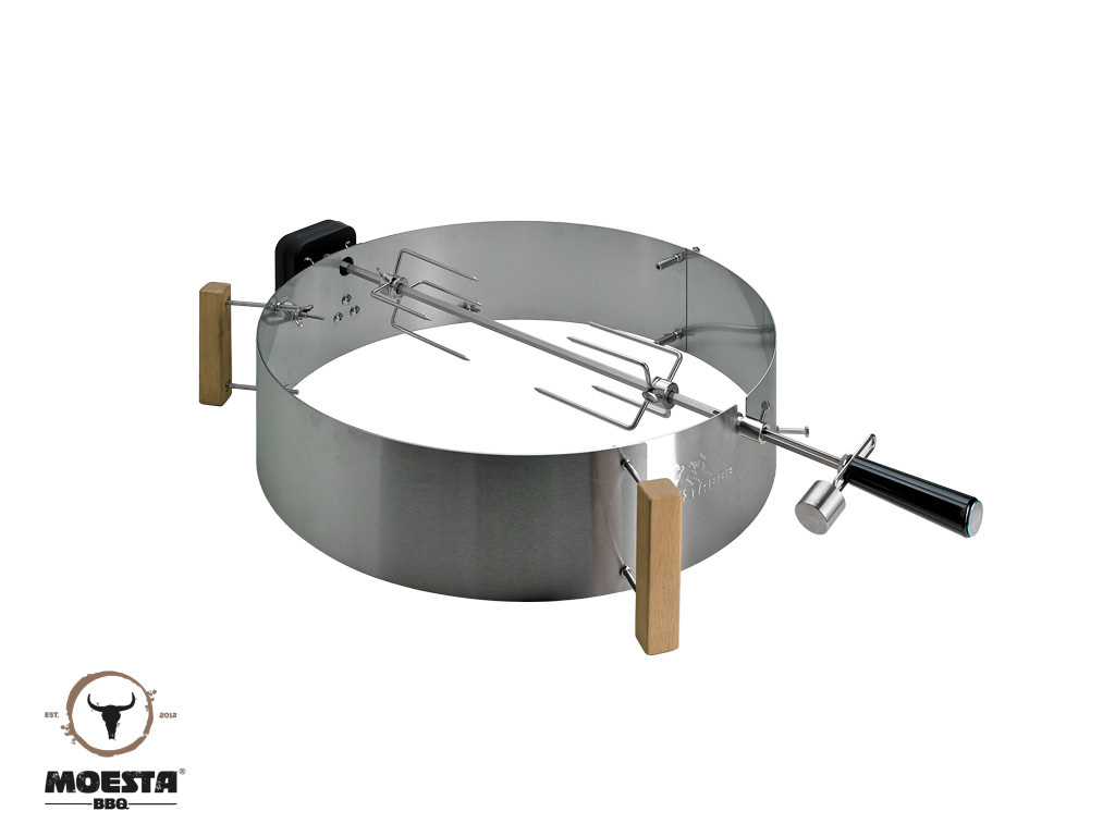 Moesta Smokin' PizzaRing - Rotisserie Set - 57cm Kugelgrills