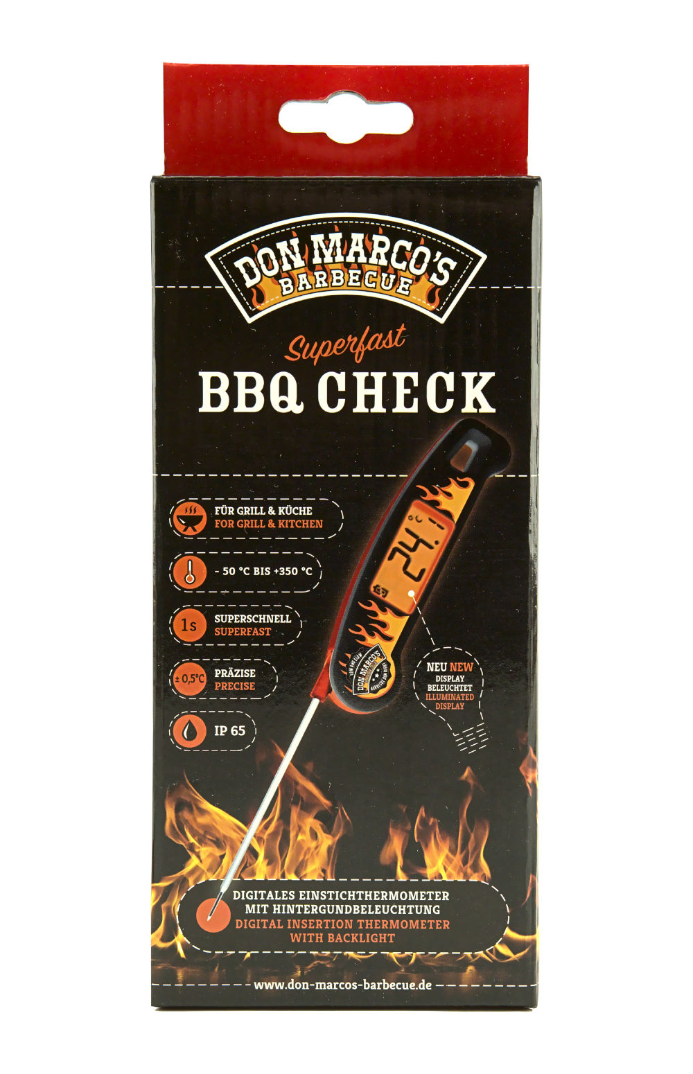 Don Marco BBQ Check Superfast - Einstechthermometer