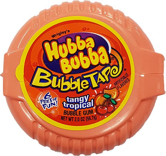 Hubba Bubba Tangy Tropical (56,7g)