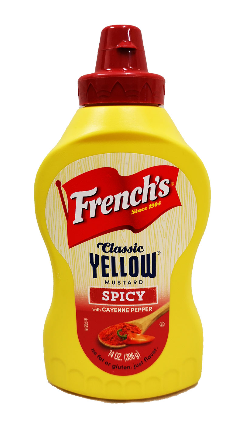 French's Classic  Yellow Mustard - Spicy
