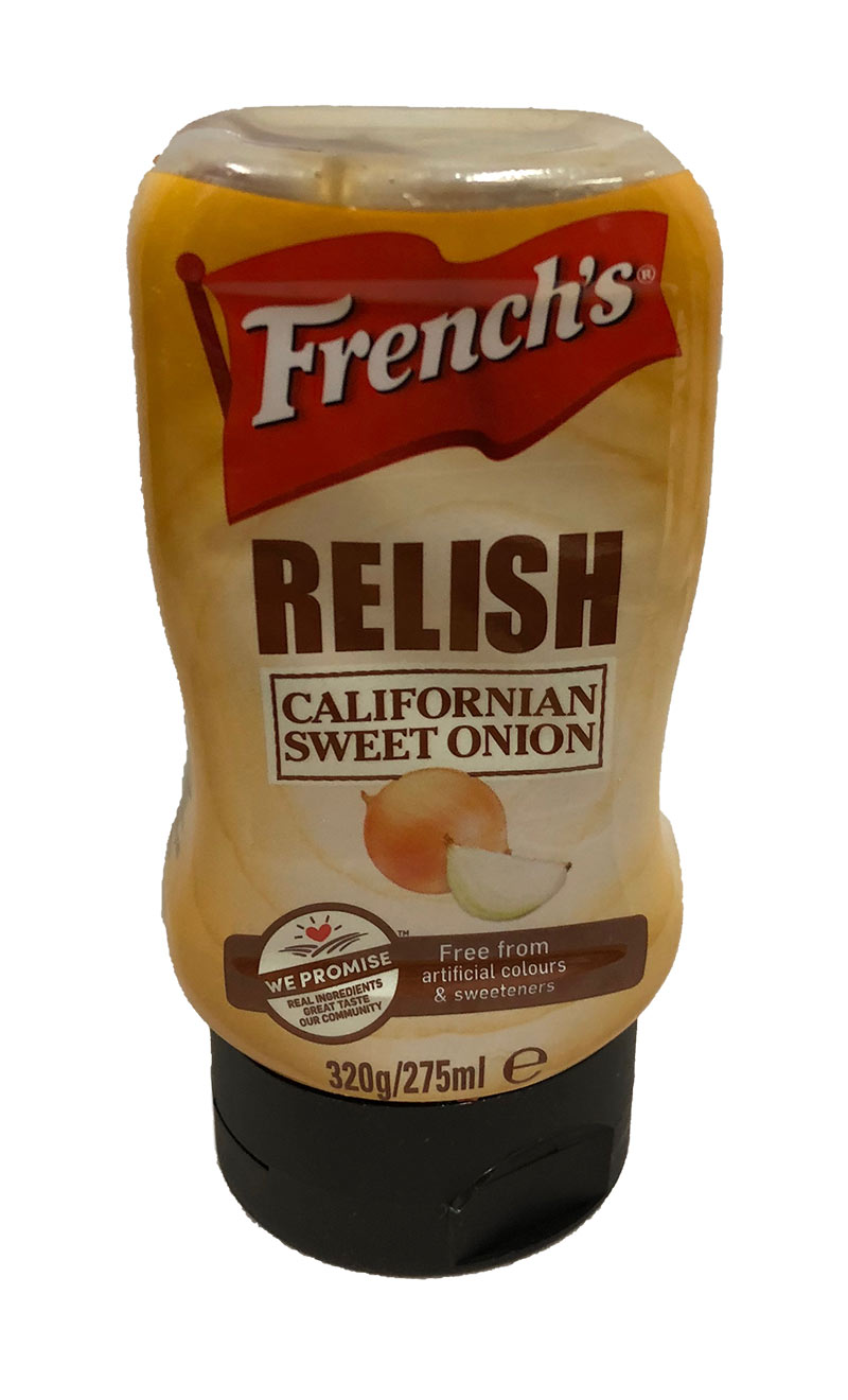 French California Sweet Onion Relish