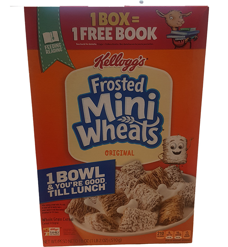 Kelloggs Frosted Mini Wheats Original 510g