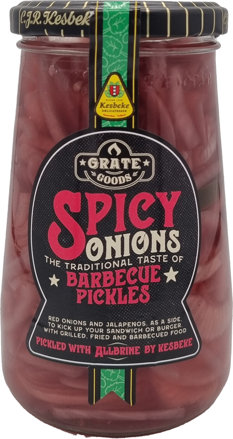 Grate Goods Spicy Onions Barbecue Pickels 325g