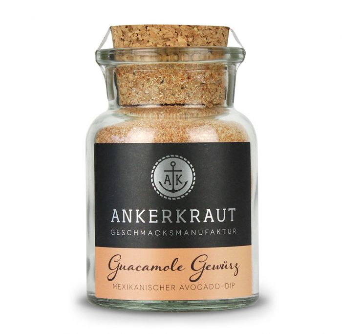 Ankerkraut Guacamole Gewürz (Korkenglas) 110g