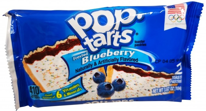 Kelloggs Poptarts Frosted Blueberry Zweierpack