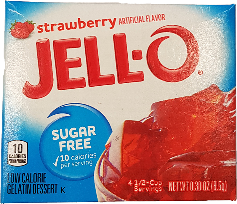 Jell-O Stawberry sugerfree