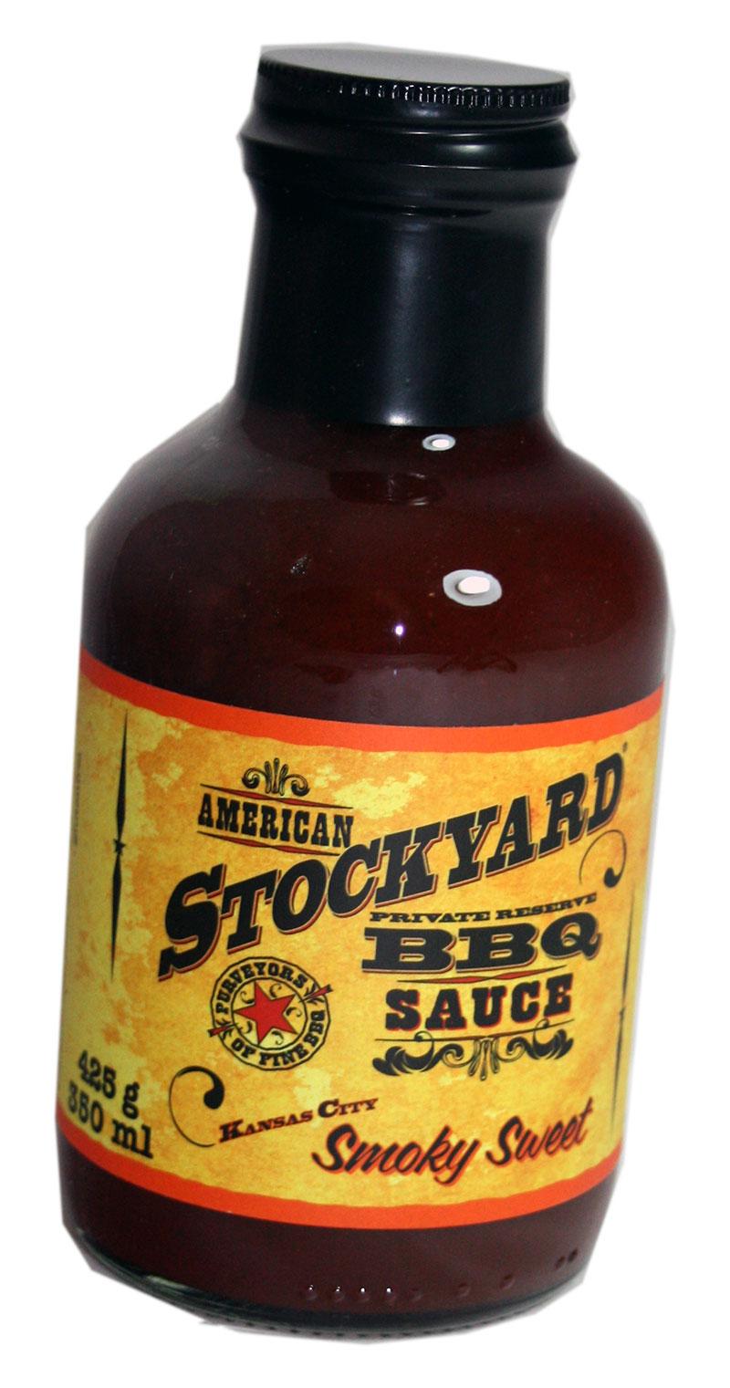 American Stockyard Smoky Sweet BBQ Sauce - klein