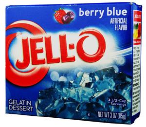 Jell-O- Berry Blue Götterspeise