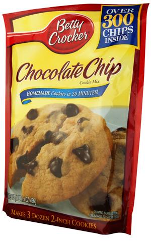 Betty Crocker Chocolate Chips Cookie Mix