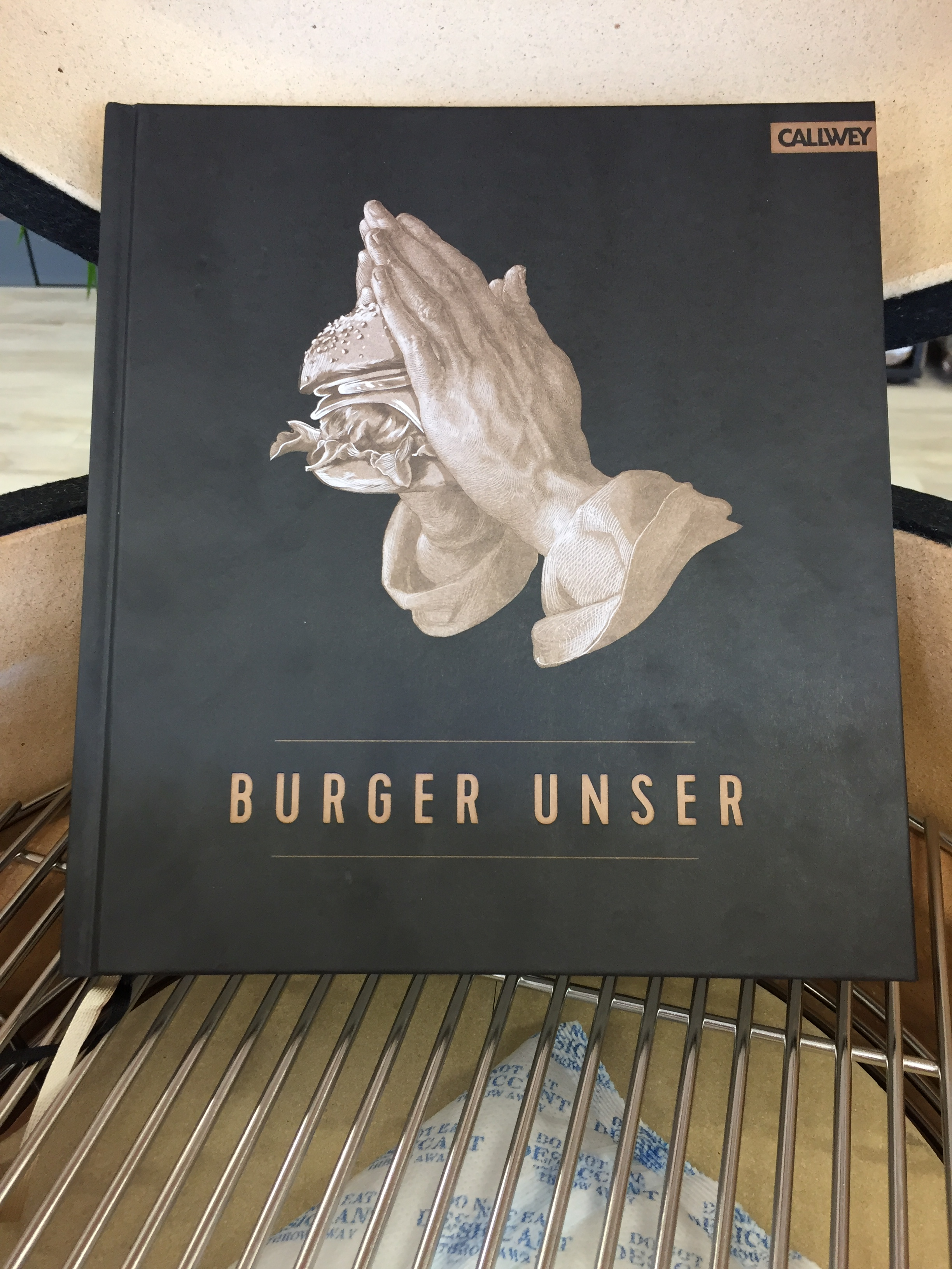 Burger Unser (Buch)