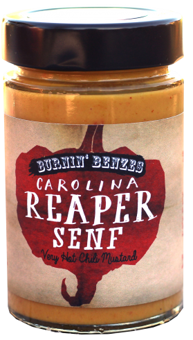 Burnin' Benzes Carolina Reaper Senf