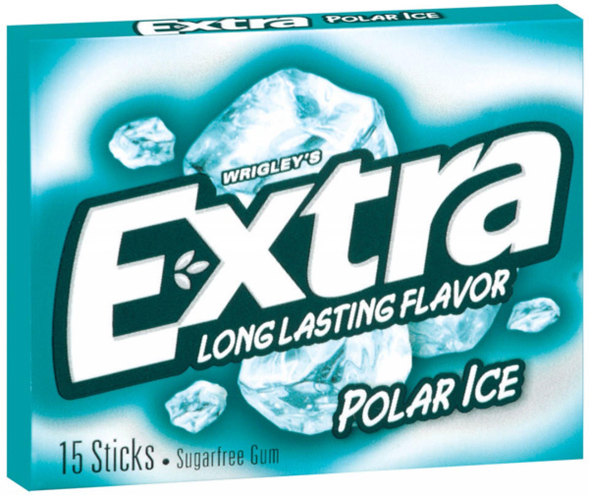 Wrigley´s Extra Polar Ice Kaugummi