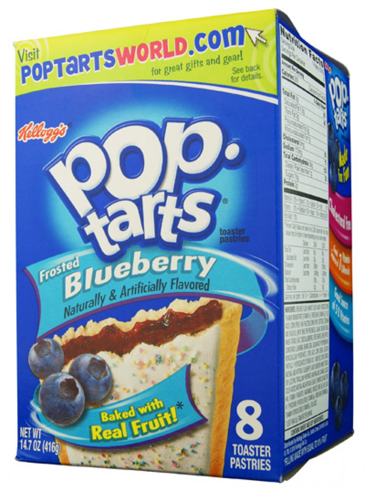 Kelloggs Poptarts Frosted Blueberry