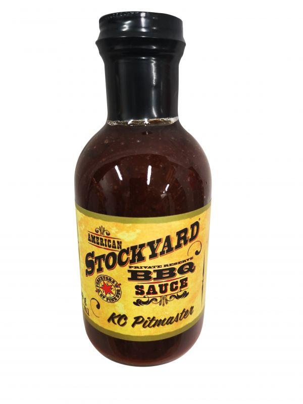 American Stockyard KC Pitmaster BBQ Sauce