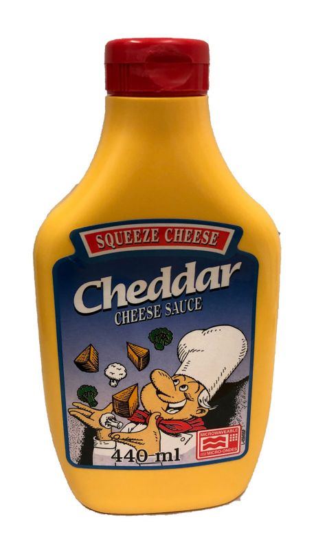 Squeeze Cheese Cheddar