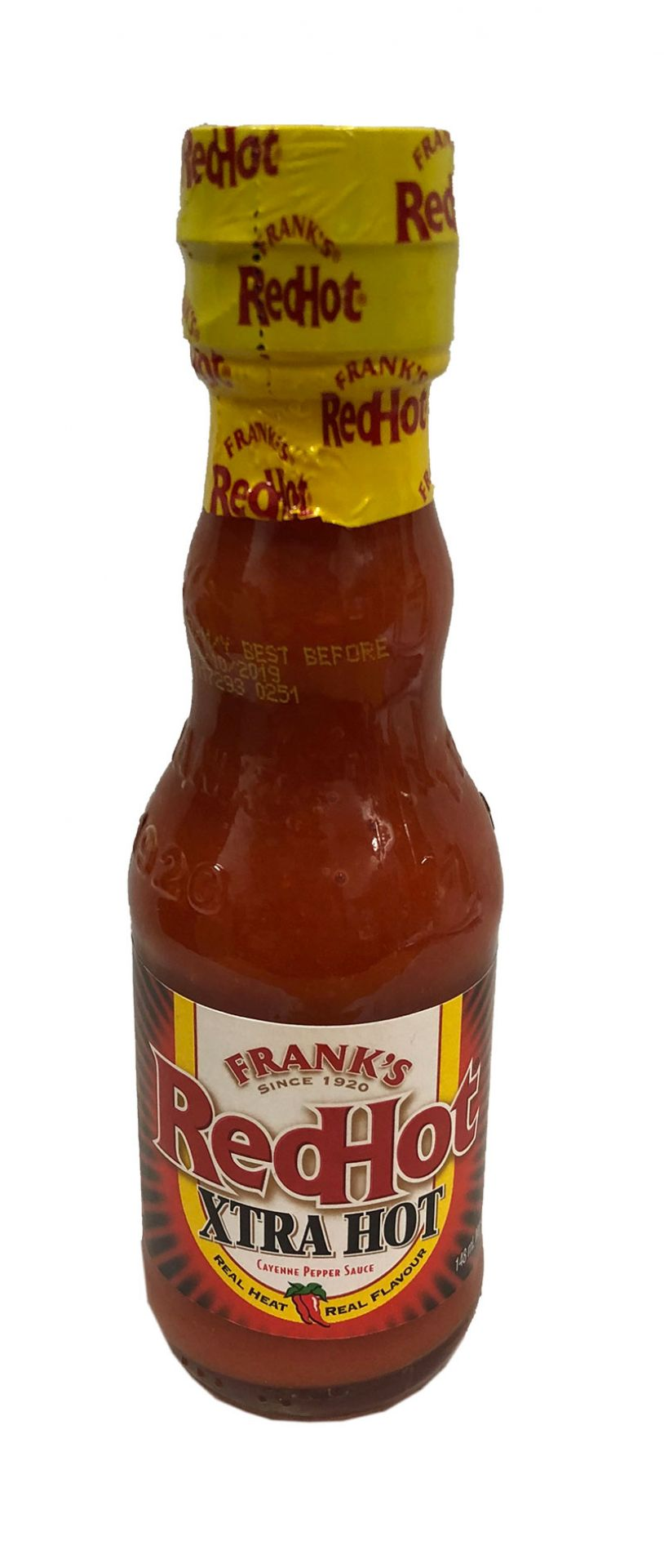 Franks Redhot Xtra Hot Sauce 148ml
