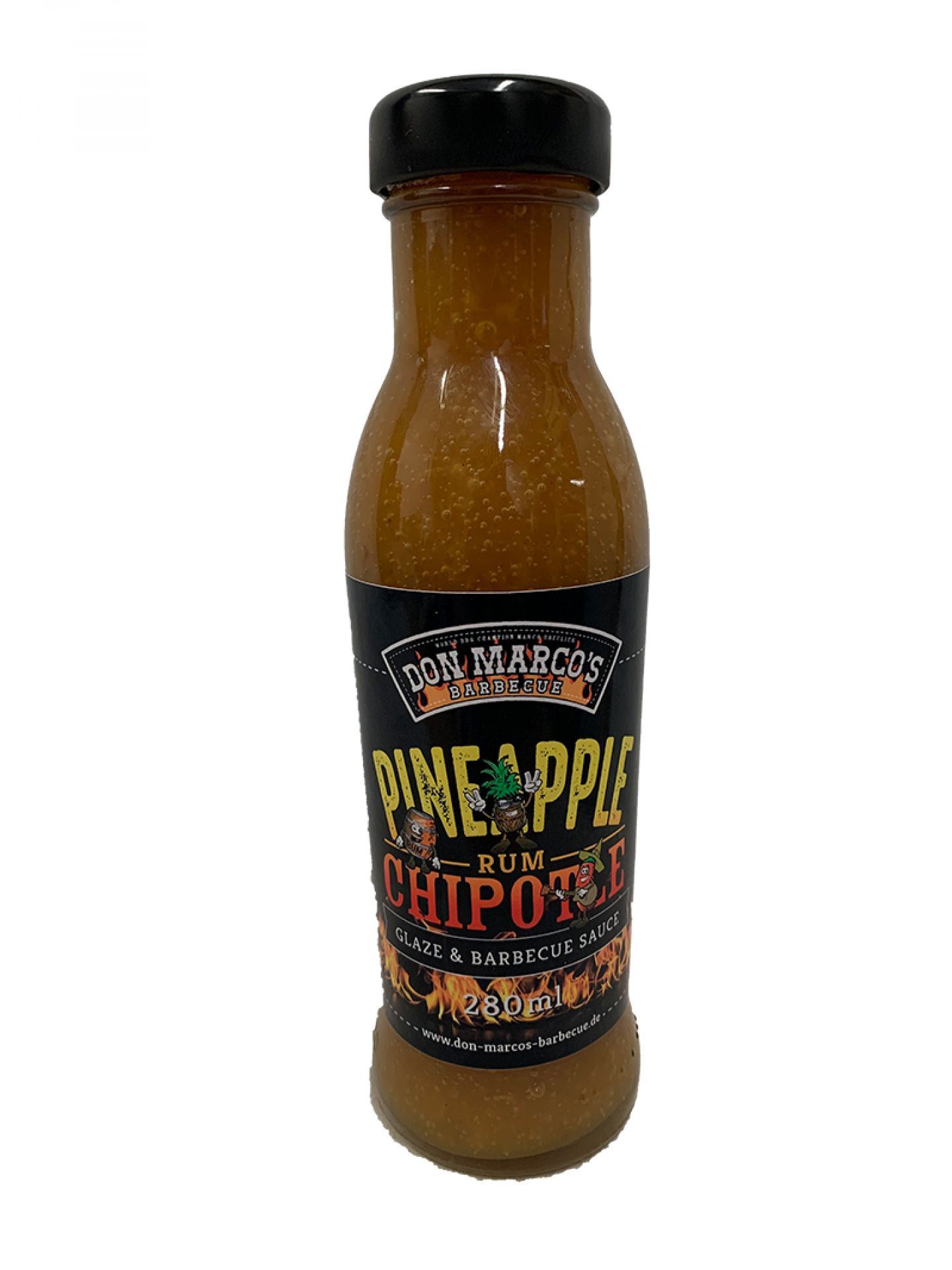 Don Marco's Pineapple Rum Chipotle BBQ Sauce