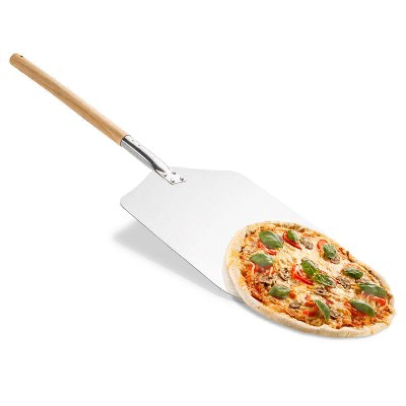 Pizzaschaufel (Pizzaheber) mit Holzgriff