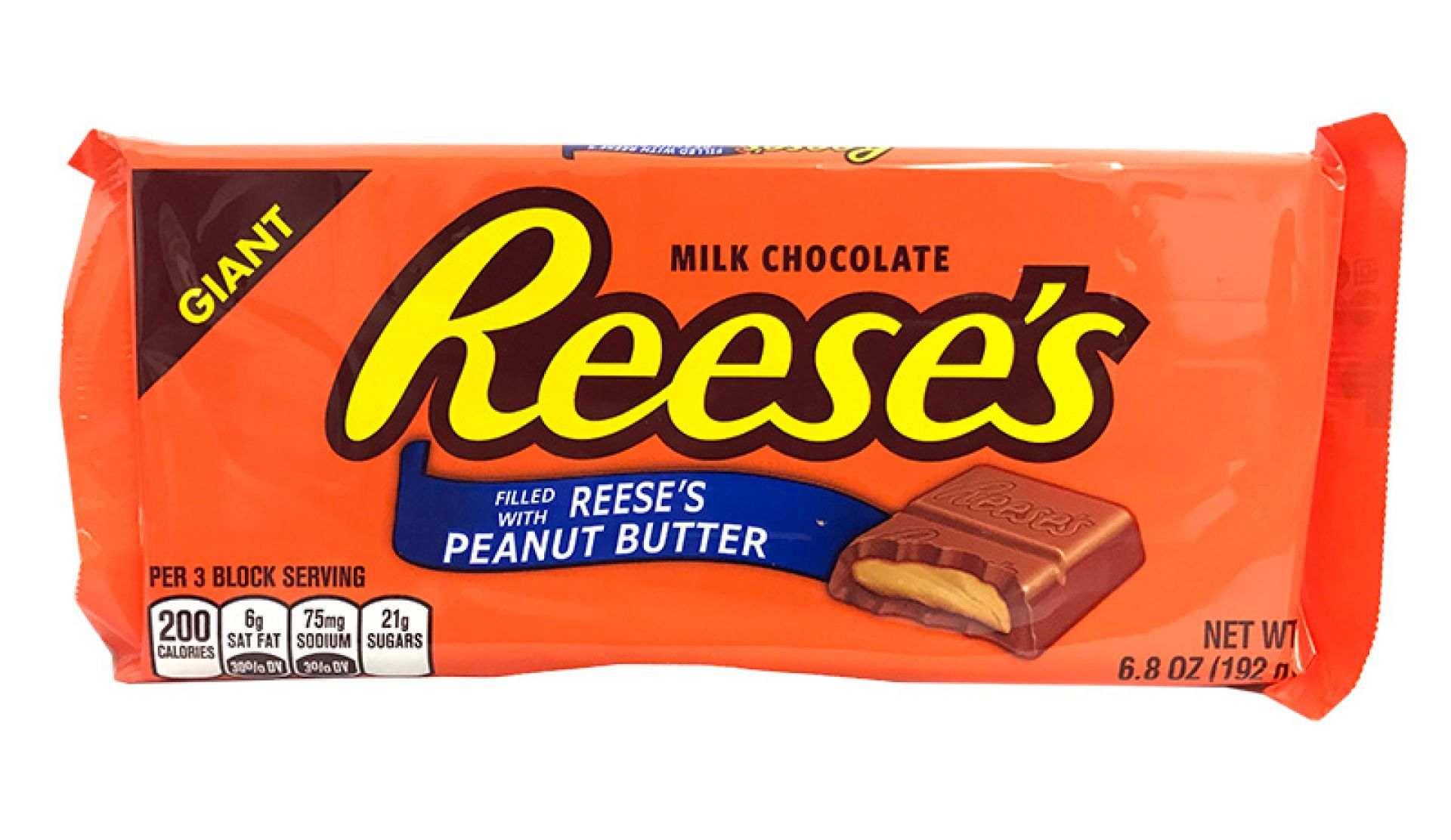 Reese's Giant Milk Chocolate Peanut Butter Bar