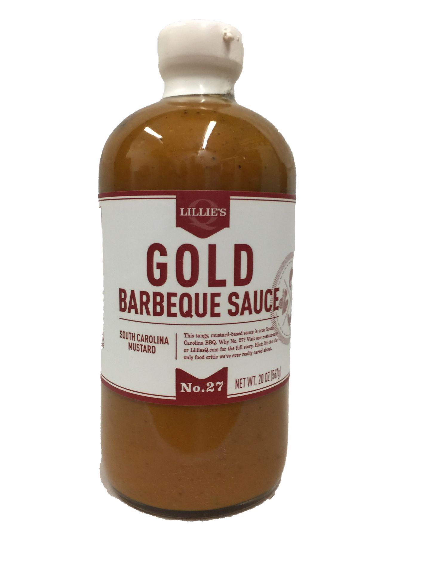 Lillie's Gold Barbeque Sauce
