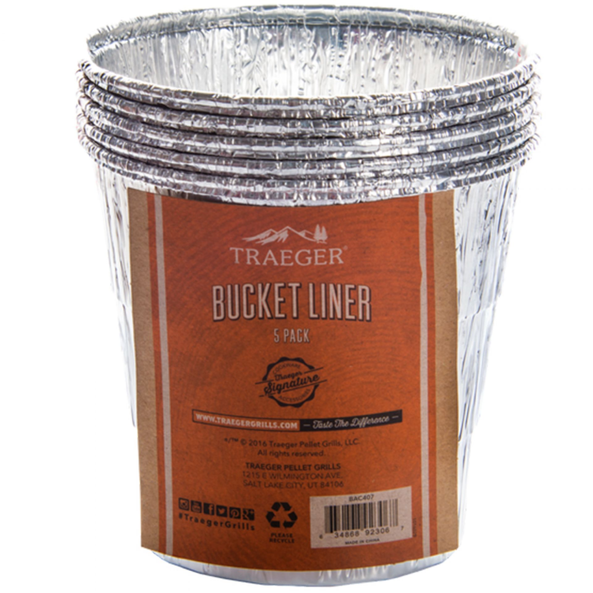 Traeger Aluminiumeinsatz für Fettauffang-Eimer