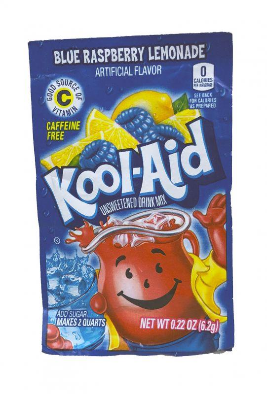 Kool Aid Instant Drink Ice Blue Raspberry Lemonade Tüten