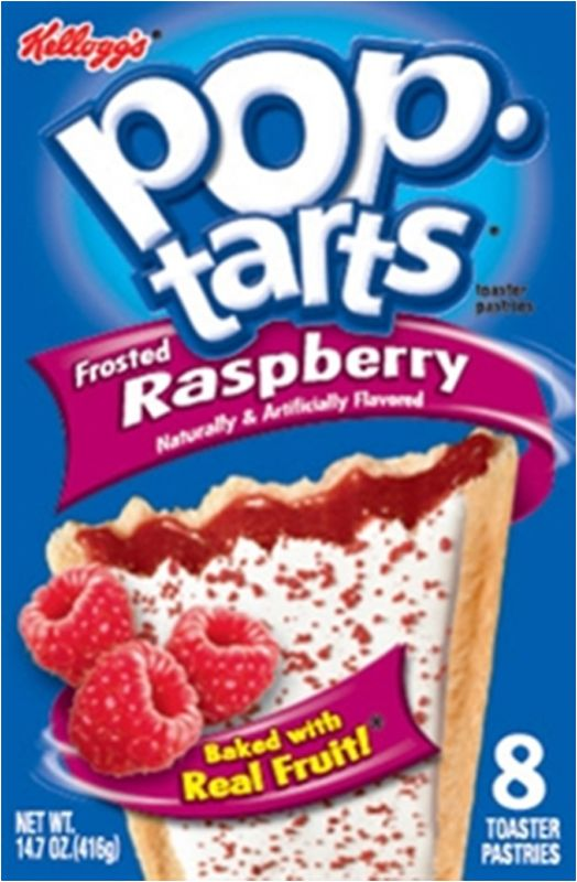 Kelloggs Poptarts Frosted Raspberry