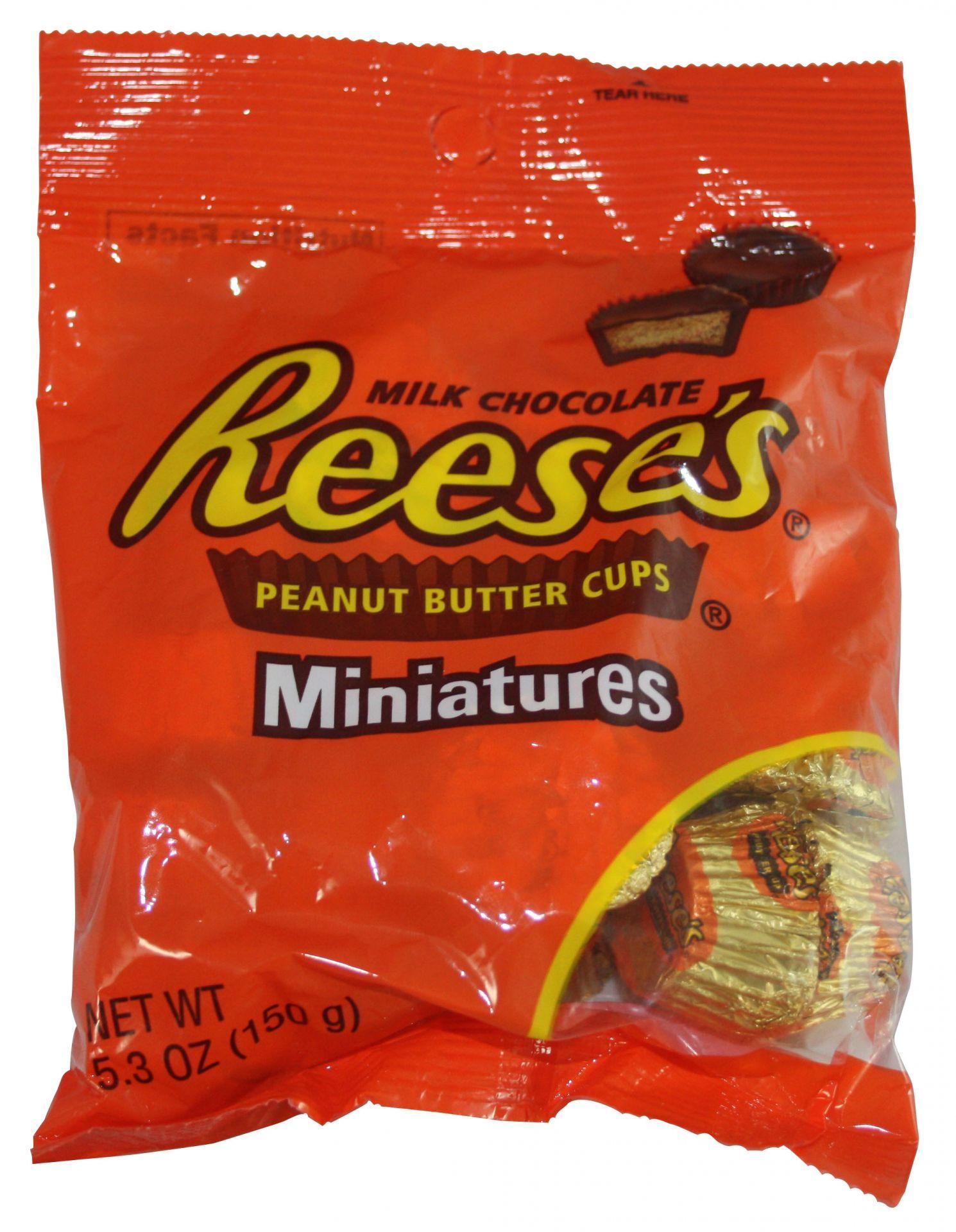 Reese´s Peanut Butter Cups Miniatures 150 Gramm