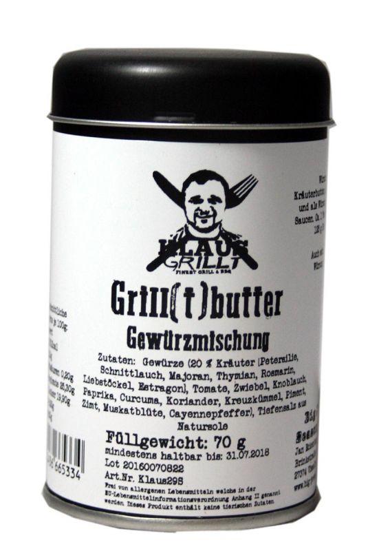Klaus Grillt Grill(t)butter (Streuer 80g)