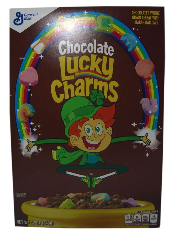 General Mills Lucky Charms Chocolate (340 g)