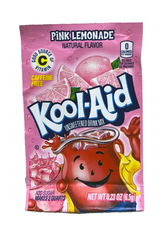 Kool Aid Instant Drink Pink Lemonade Tüten