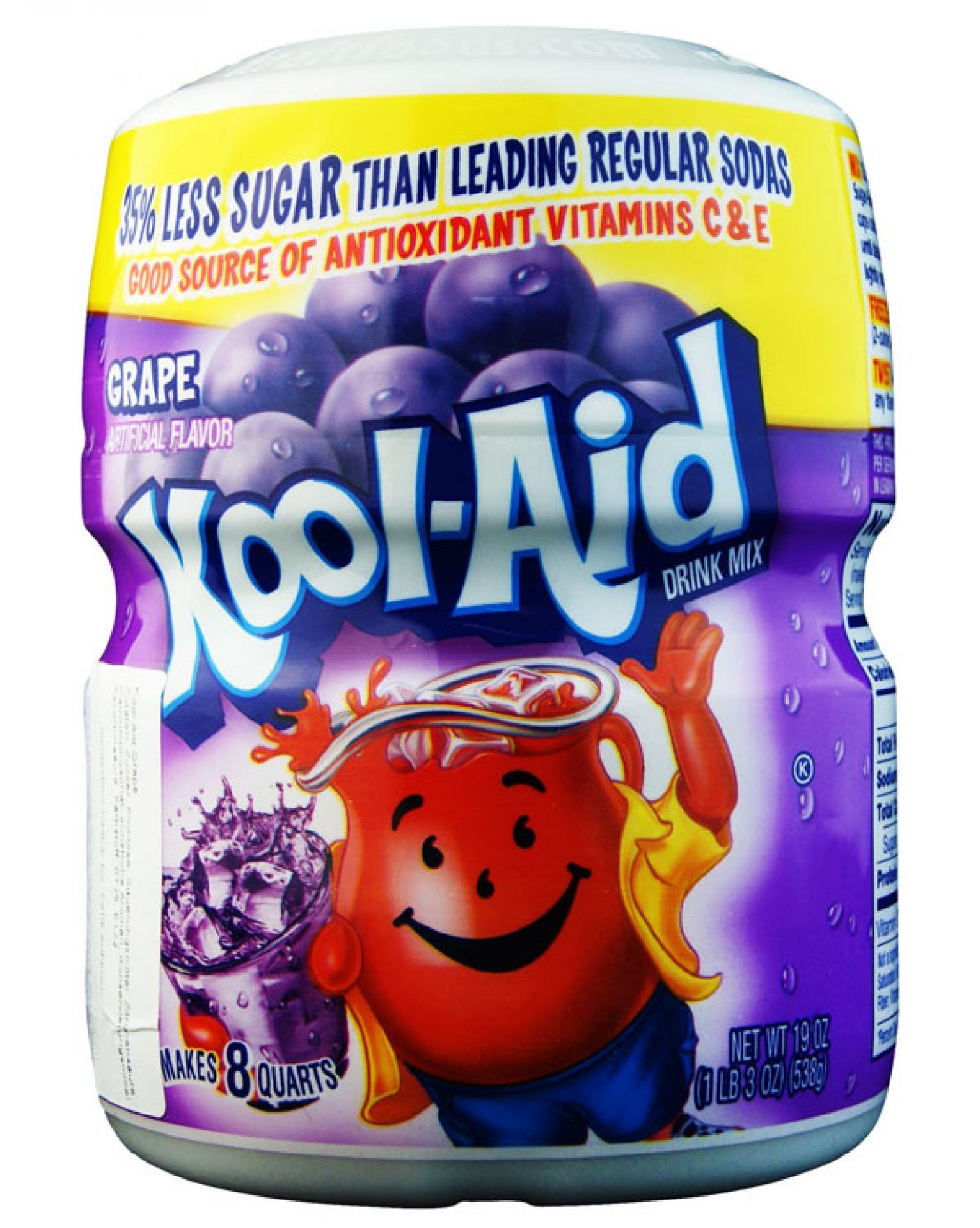 Kool Aid Barrel Grape