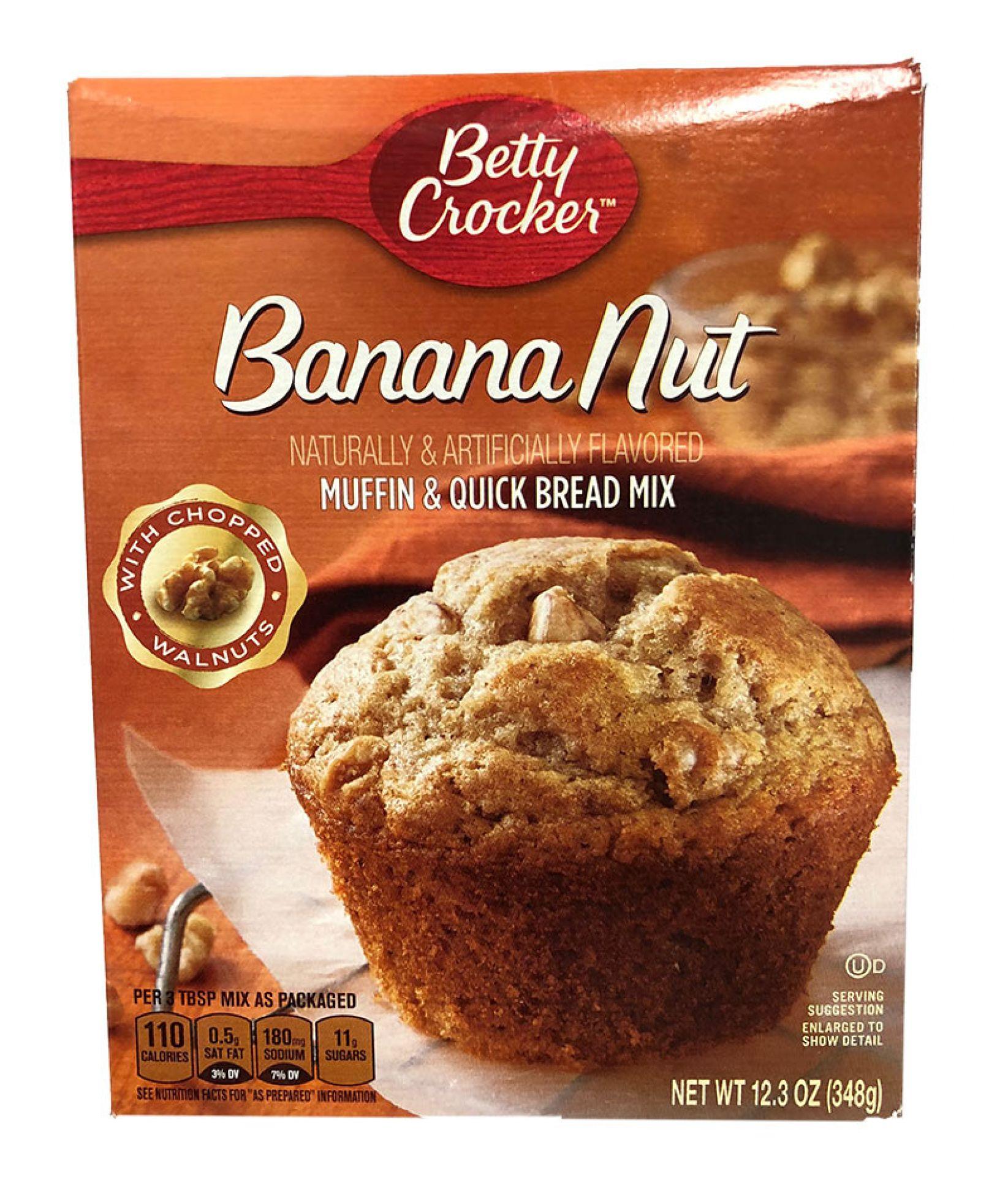 Betty Crocker Banana Nut Muffin Mix 348 g